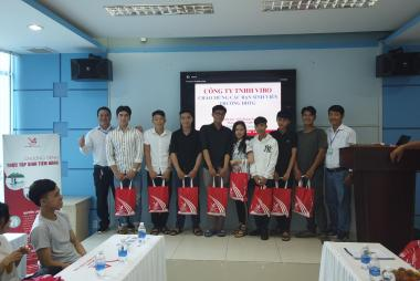 STUDENTS OF TIEN GIANG UNIVERSITY - VISIT VIBO FACTORY
