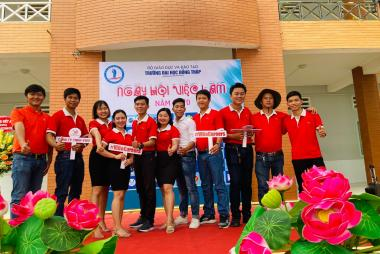 JOB DAY - DONG THAP UNIVERSITY 04.07.2020